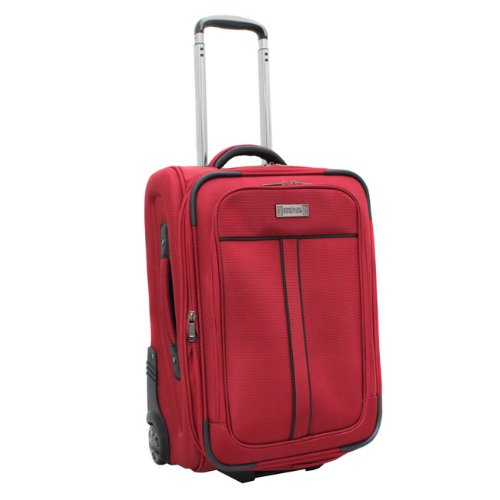 Kenneth Cole Reaction Front Row 21″ Exp. Wheeled Upright/Carry-On (Red), Bags Central
