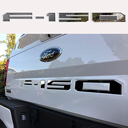 [해외]Lawr Adhesive F150 Tailgate Insert Letters 3D F150 Emblem Tailgate Decal Letters for F150 2018 2019 (Ingot Silver) / Lawr Adhesive F150 Tailgate Insert Letters, 3D F150 Emblem, Tailgate Decal Letters for F150 2018 2019 (Ingot Silve...