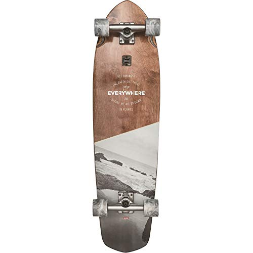 GLOBE Skateboards Blazer XL Longboard Skateboard Complete, Everywhere, 36