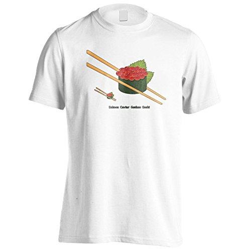 Neue Lachskaviar Sushi Gunkan Herren T-Shirt l127m
