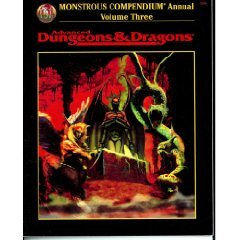 Monstrous Compendium Annual, Vol. 3 (Advanced Dungeons & Dragons, Accessory/2166)