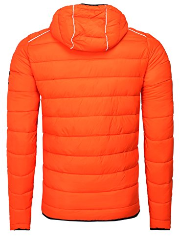 Naranja hombre chaqueta Norway para Geographical Chaqueta guateada qZUwnA6