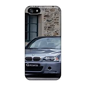 Anti-scratch And Shatterproof G Power Bmw M3 Front Angle Phone Cases For Iphone 5/5s/ High Quality Tpu Cases