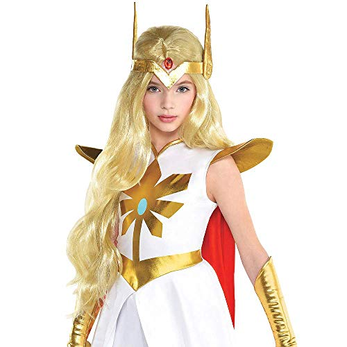 Children's She Ra Costume (ELEGANI HalloWIG Compatible with Child She-Ra WigHalloween Costumes Costume Accessories)