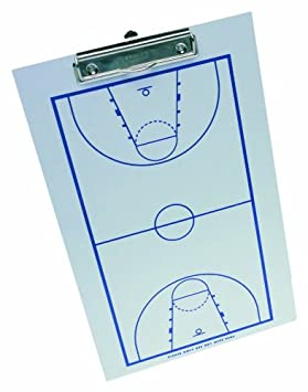 Baden - Pizarra táctica de baloncesto, color blanco: Amazon ...
