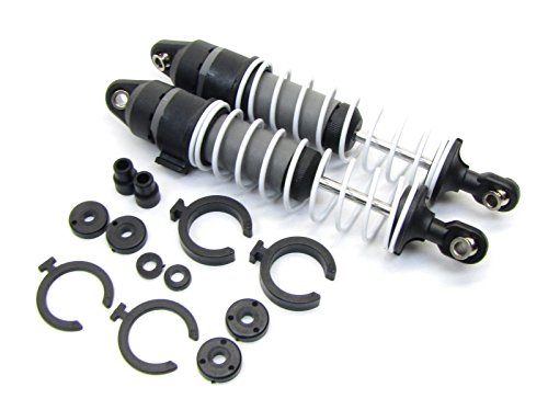 RUSTLER VXL REAR SHOCKS DAMPERS SPACERS, 3762A TRAXXAS 37076-3