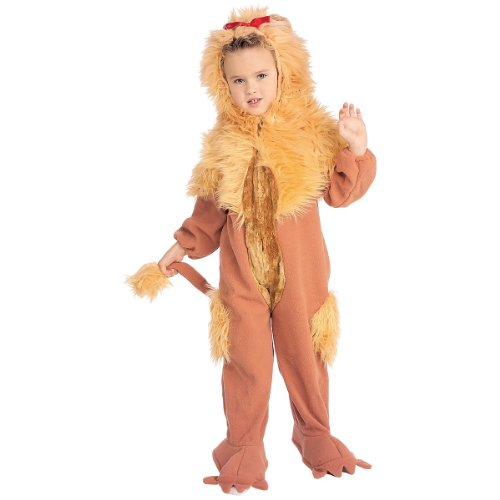 Cowardly Lion Costume Pattern (Cowardly Lion Costume Accessory - Small)