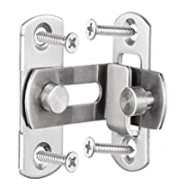 4 inches large 90 degree right angle door latch buckles curved latch bolts sliding lock lever bolts for doors and windows