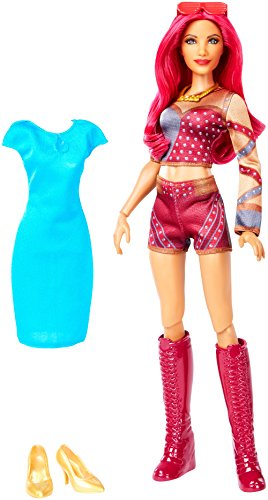 WWE Superstars Sasha Banks Doll & Fashion ()