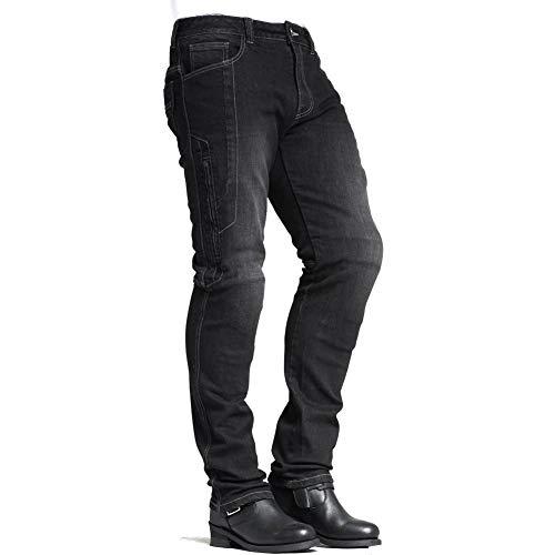 MAXLER JEAN Biker Jeans for men Motorcycle Motorbike riding Jeans 1617 Grey 36