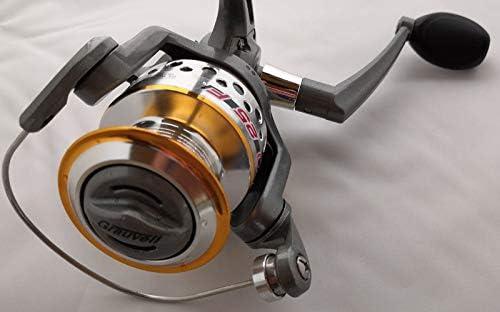Grauvell - Caña de Pescar y Carrete Pro Light Spinning Combo 180 3 ...