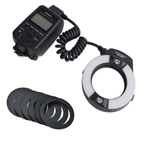 Yongnuo Yn-14m LED Ring Macro Flash Light with 6 Adapter Rings for Olympus E-520 E-420 E-620 E-3 E-30 E-620 E-330 E-410 Camera SLR Dslr Illumination Lamp Camcorder