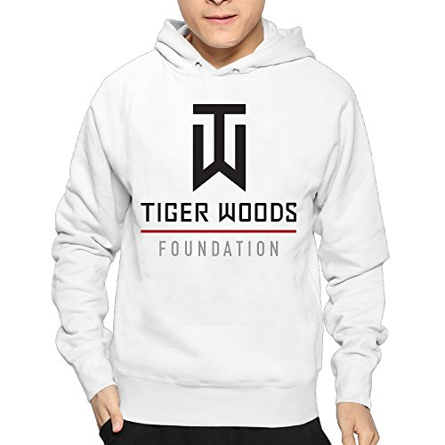 Lightweight 80's Juniors Male's Tiger Woods Golfer Medium Hoodie - Dictionary Lightweight Urban