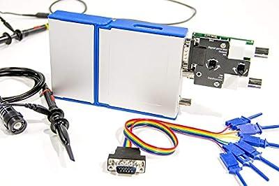 Loto OSC482X, USB Oscilloscope + Signal Generator + Logic Analyzer + Data Logger, 4 in 1, 50M S/s, 8~13 bit Vertical Resolution (PC Oscilloscope + Signal Generator + Logic Analyzer, OSC482X)