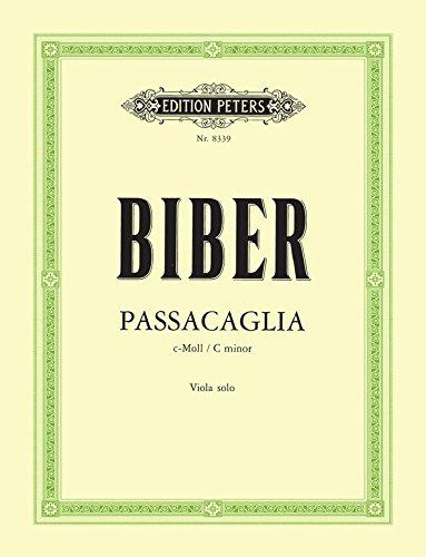 Biber: Passacaglia in C Minor (arr. for viola)