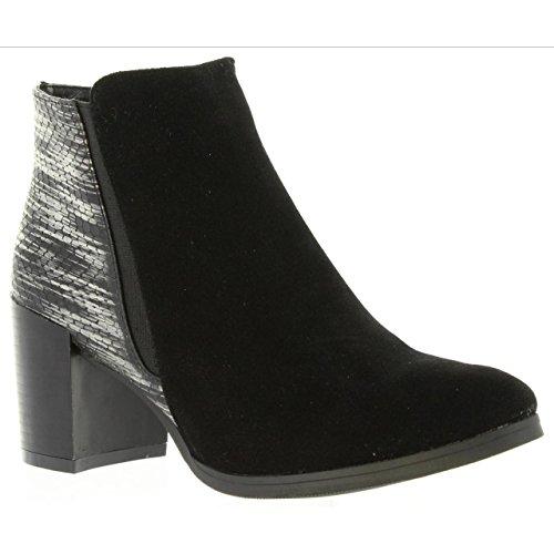 Black pour B090130 B6600 Femme Urban Urban GoCo Bottines 0fvCwppq