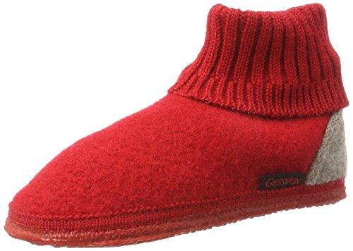 Giesswein GiessweinKramsach - pantuflas sin forro Unisex Niños Rojo (Rot)