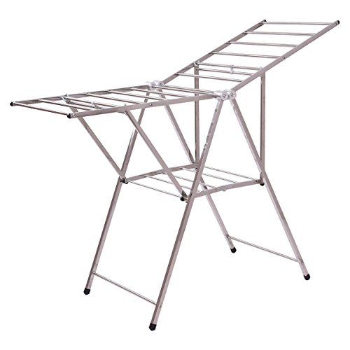 "TANGKULA 58"" Drying Rack Clothes Laundry Dry Hanger Heavy Du"