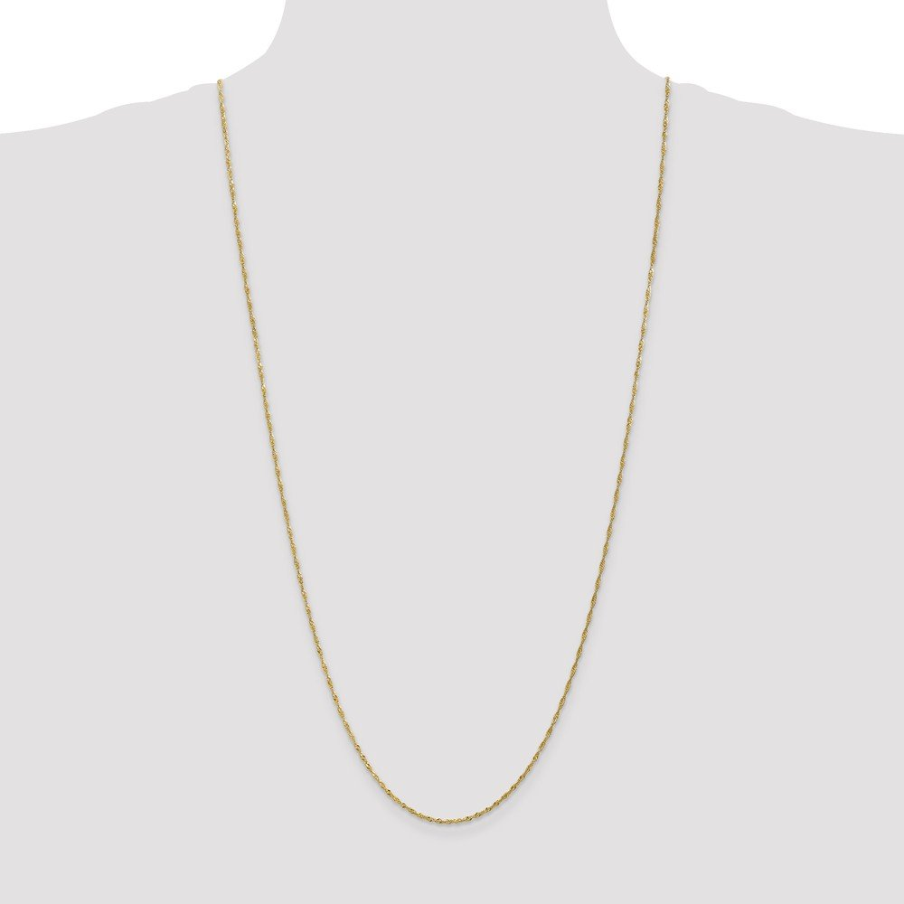 1.4mm Singapore Chain Anklet