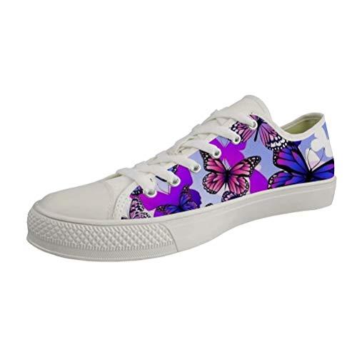 Butterfly Sandali white Con Zeppa Donna Chaqlin 4 aIwgx66Aq