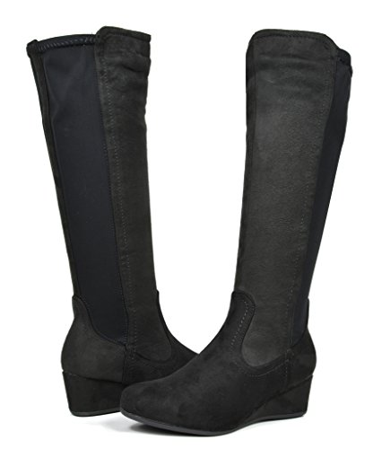 dream-pairs-levve-womens-fashion-elastic-panel-fur-interior-low-wedge-knee-high-boots