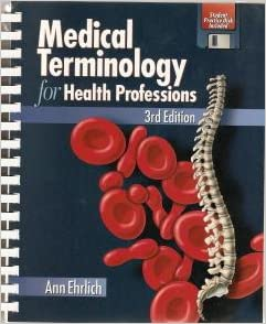 Medical Terminology for Health Professions / Edition 8