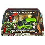 Transformers Revenge of the Fallen ROTF Human Alliance - Autobot Skids, Mikaela Banes