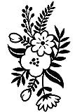 Small Floral Sprig Emboss Folder (12 Pack)