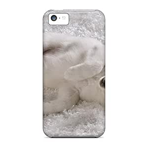 YYA10831nlCZ Anti-scratch Case Cover AniamlCaseZone Protective Dog On Snow Case For Iphone 5c