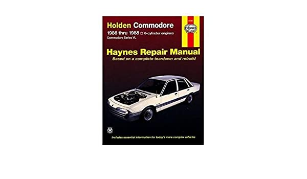 Holden Commodore Australian Automotive Repair Manual: 1986 to 1988 Author: Tim Imhoff published on October, 2000: Amazon.es: Tim Imhoff: Libros