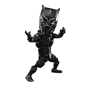 Beast Kingdom Captain America: Civil War: Egg Attack Action Eaa-033 Black Panther Action Figure