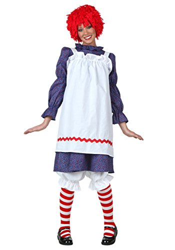 FunCostumes Womens Rag Doll Costume Set and Wig Large for $<!--$34.99-->