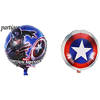Captain American Emoji 18 Inch Foil Balloon