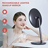 Rechargeable Lighted Makeup Vanity
