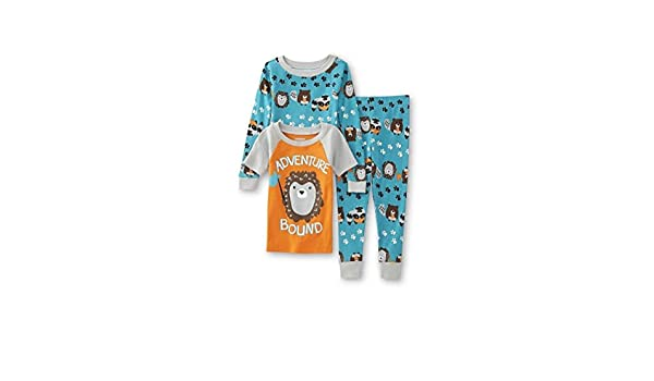 Amazon.com: WonderKids Toddler Boys 3 Pc Pajamas Set - 2 Shirts & Pants (5T, Adventure Abound): Clothing