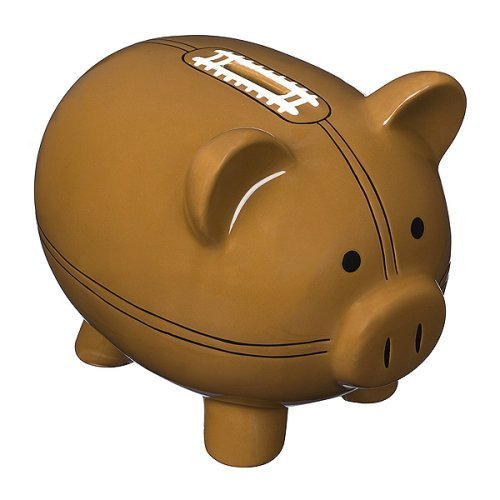Piggy Bank - Jumbo Ceramic Football