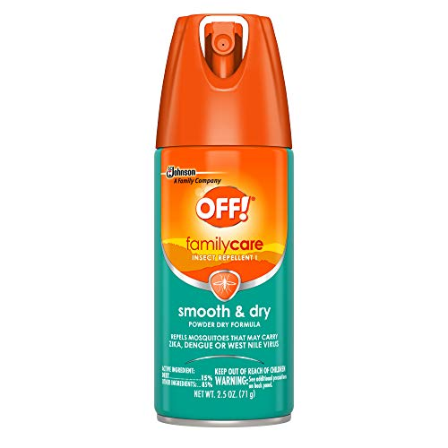 Off! Family Care Smooth & Dry, 2.5-Ounce Cans (Pack of 12) ()