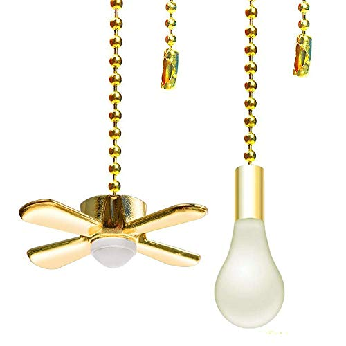 Aoprofree Ceiling Fan Pull Chain, 13.6 Inches Fan