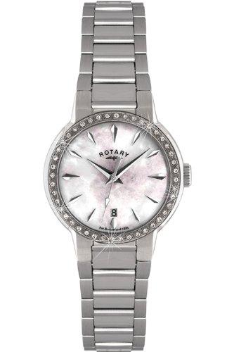 Rotary Damen-Armbanduhr XS Timepieces Analog Edelstahl LB02843/07