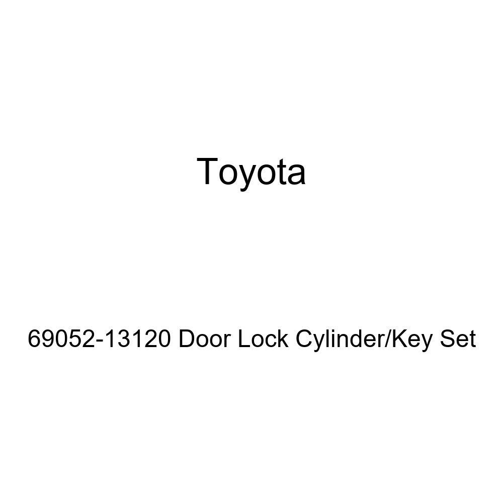 Genuine Toyota 69052-13120 Door Lock Cylinder//Key Set