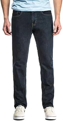 CCS Banks OG Slim-Straight Fit Men's Jeans with Comfort Stretch