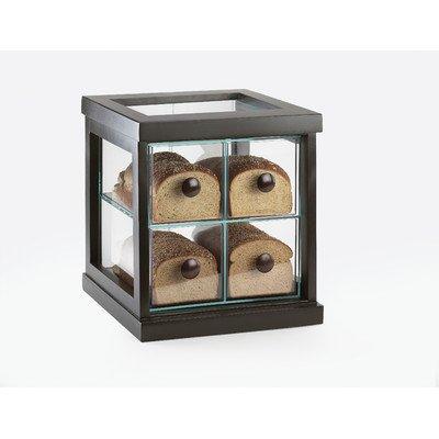 Cal-Mil 813-96 Midnight Bread Case, 15'' Width x 14.35'' Diameter x 14.875'' Height, Black