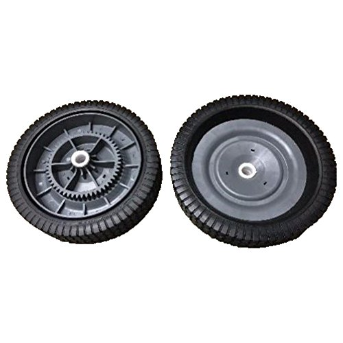 Ohio Steel Two Tow-Behind Lawn Leaf Sweeper Wheel Tire Compl