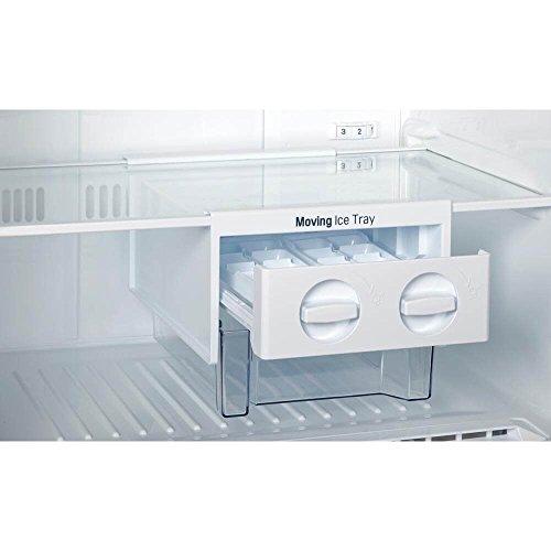 "Lg - Large 24"" Wide Compact Refrigerator Platinum"