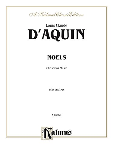 (Noels: Christmas Music for Organ (Kalmus)