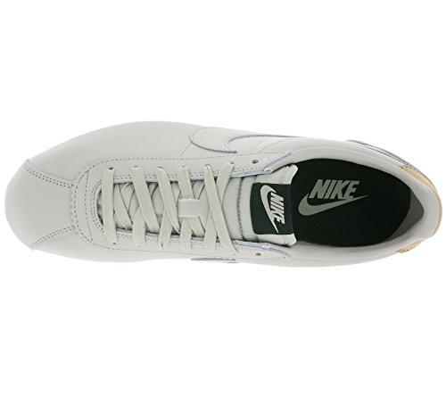 NIKE Classic Cortez Leather Special Edition Sneaker en cuir véritable gris 861535 005 beige nJ9WWa