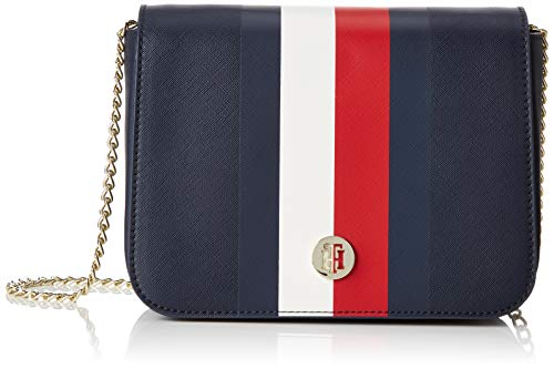 Tommy Hilfiger Honey Crossover Corp, Women's Cross-Body Bag, Blue (Corporate), 5.5x16x21.6 cm (B x H T)