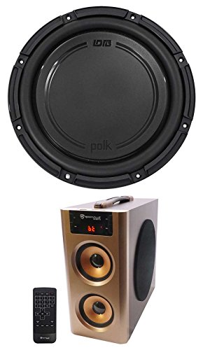 Polk Audio DB1242SVC 12 1110w Single 4-Ohm Car/Marine Audio Subwoofer + Speaker by Polk Audio