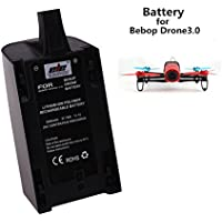 ELEOPTION High Capacity 2500mAh Upgrade Battery - Rechargeable Battery Pack Replacement Extended Tlight Times for Parrot Bebop Drone3.0 Quadcopter Upgrade (1 PCS)