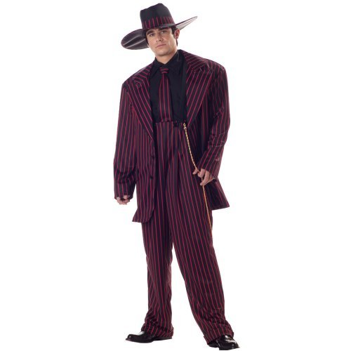 1940s Style Dresses and Clothing Zoot Suit Adult Costume $48.88 AT vintagedancer.com